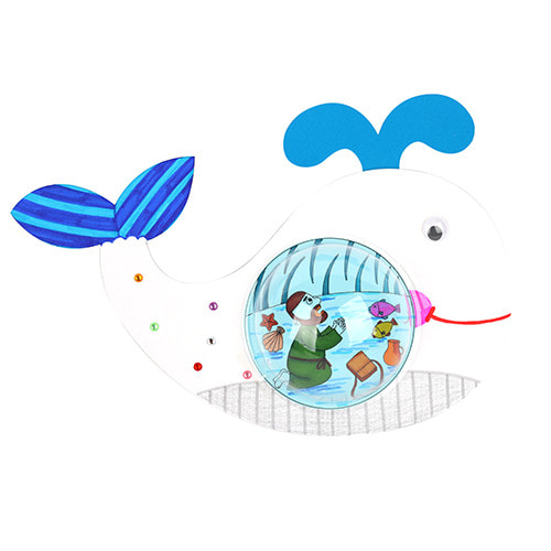 왕고래뱃속 요나이야기 (5개이상구매가능)