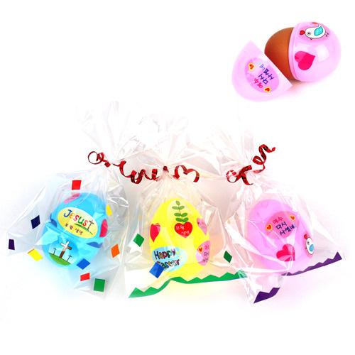 부활절 계란모형케이스 5set (스티커포함)