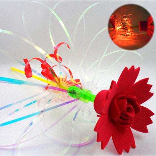 꽃 한송이 LED요술봉