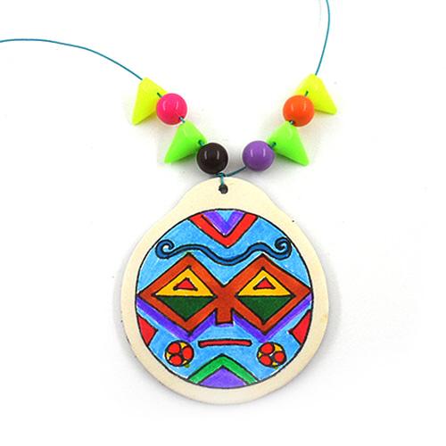 아프리카 원주민 목걸이 (5인용)