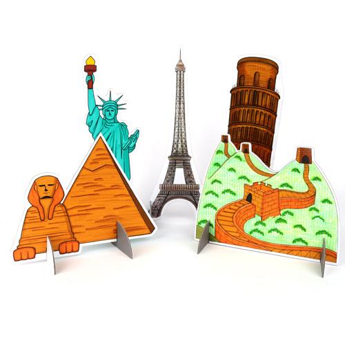 세계 여러나라 건축물 (5종set)