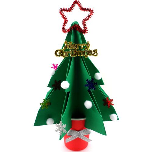 크리스마스종이트리만들기 (5개이상구매가능)