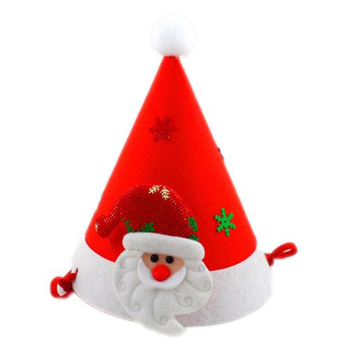 산타인형모자