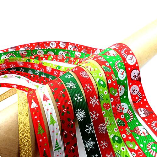 크리스마스리본10종set(특가sale)